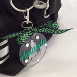 Barrel Racing Bag Tag, Personalized, Gifts for Western Riders