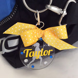 Lacrosse Girl Bag Tag, Personalized, Gifts for Lacrosse, LAX