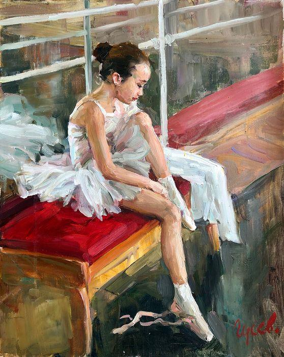 Vladimir Gusev - Petite ballerine au repos (Little ballerina at rest) - Empire of O'Z