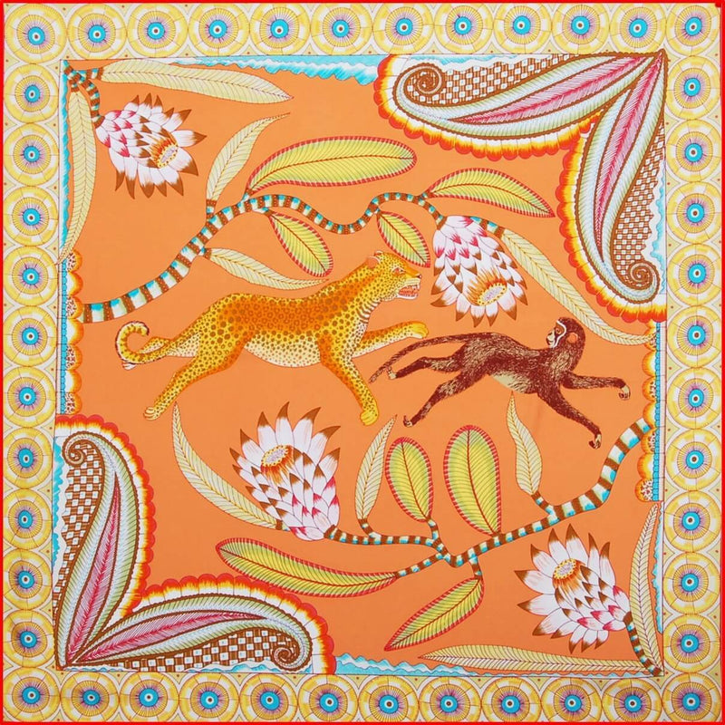 "Silk scarf ""Jungle"" - Empire of O'Z"