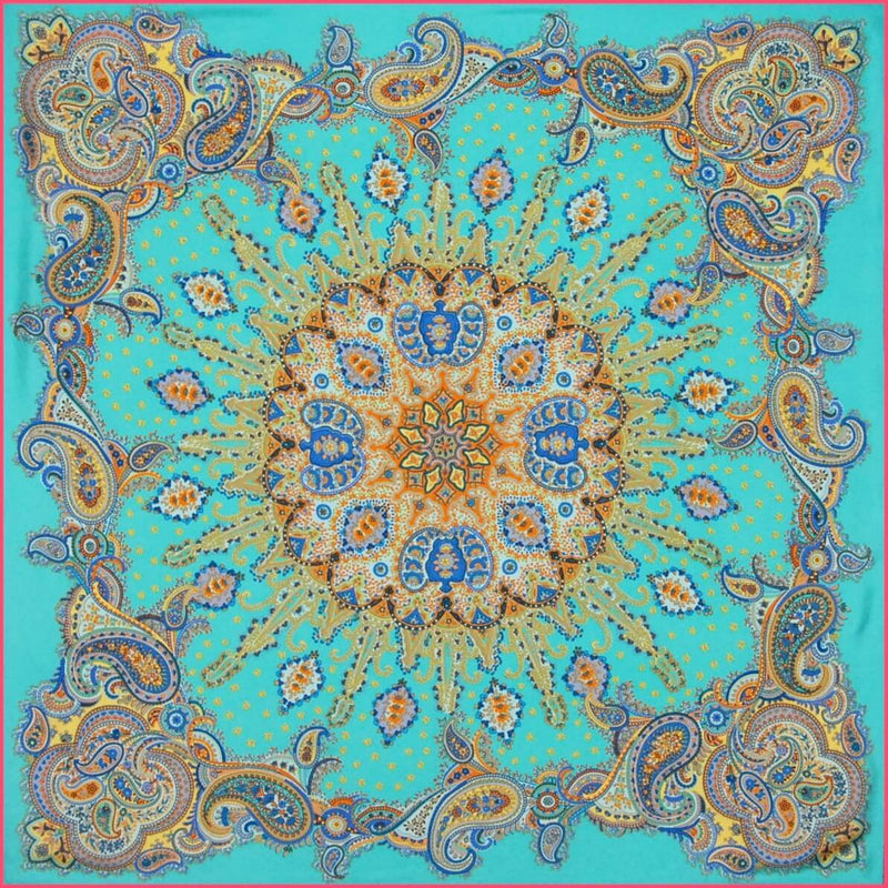 "Silk scarf ""Mandala"" - Empire of O'Z"