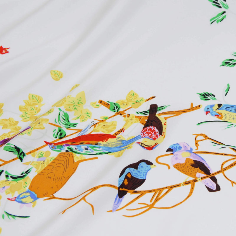 "Silk scarf ""Birds"" - Empire of O'Z"