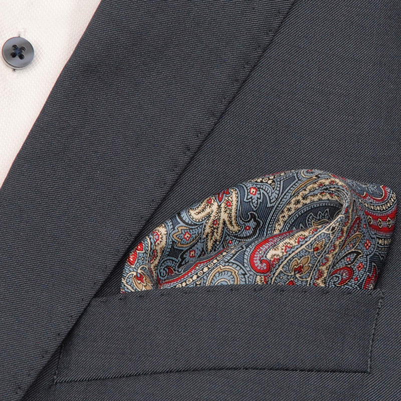 "Pocket square ""Paisley"" - Empire of O'Z"