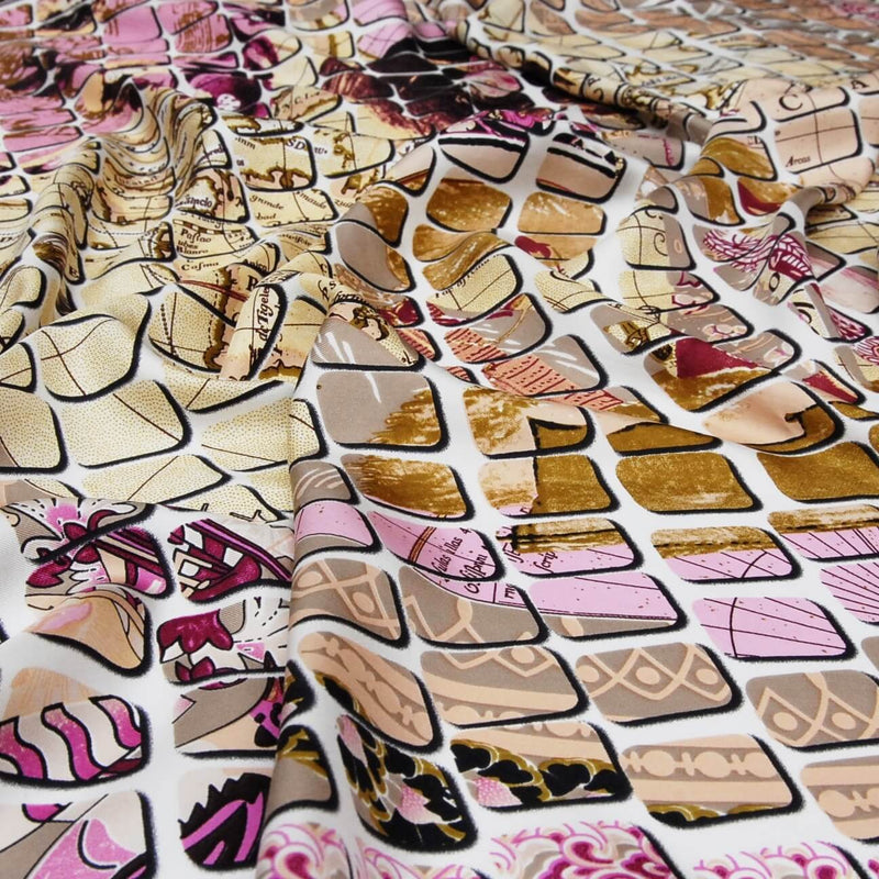"Silk scarf ""Mahjong"" - Empire of O'Z"
