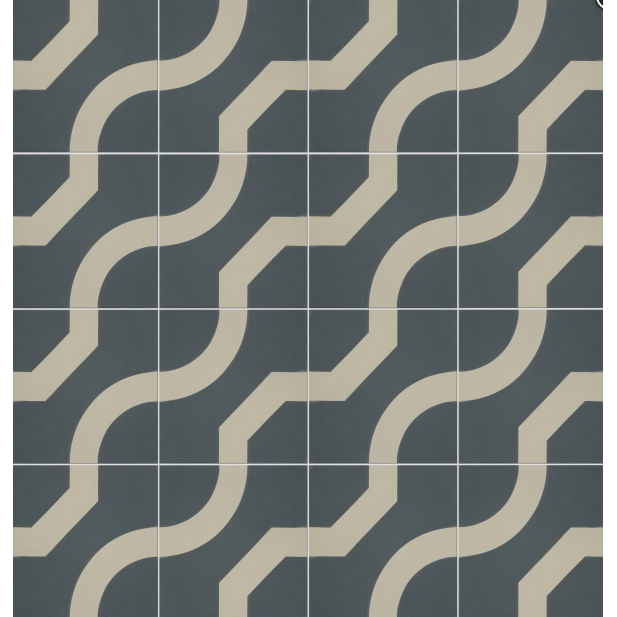 Illusion Pattern Tile