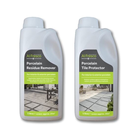Porcelain Protector & Residue Remover Care Kit