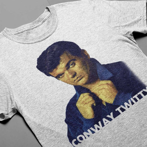 Image of Conway Twitty Unisex 60s Icon Photo Tee