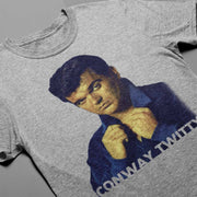 Conway Twitty Unisex 60s Icon Photo Tee