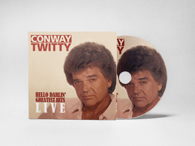 Hello Darlin' Greatest Hits LIVE CD - Conway Twitty