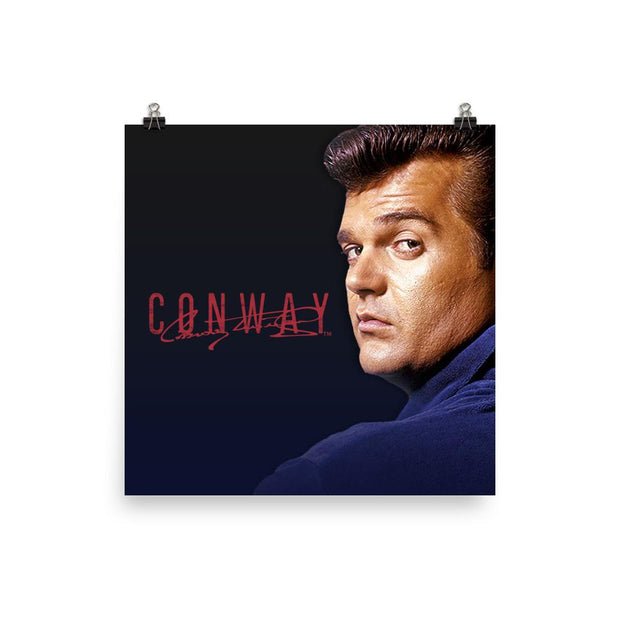 Conway Twitty Signed Poster