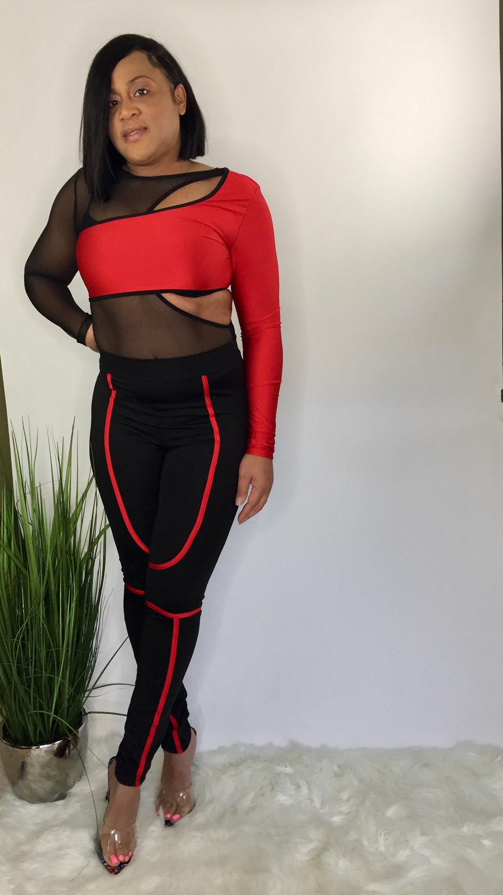 Reckless | Body suit and tight matching set