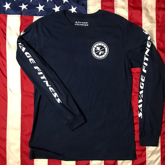 Savage Fitness Long Sleeve T-Shirt
