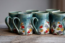 Daisy Green drippy mug