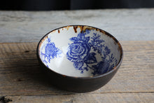 "medium roses bowl 7"" wide x3"" tall"