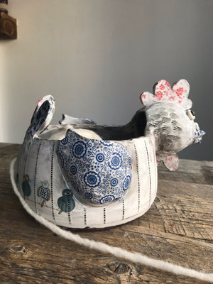 Hen Yarn Bowl - the one and only