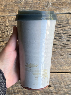 Travel mug Moose 16 oz ** Clearance**