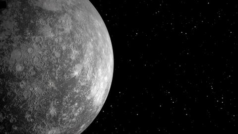 Mercury the planet in the sixth house