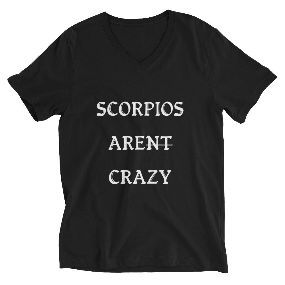 Scorpios ARENT CRAZY- Mens V-Neck