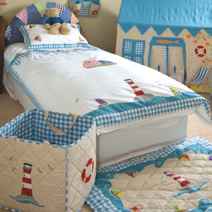 Beach House Floor Quilt - Rainbow Playhouses
