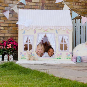 Butterfly Cottage Playhouse - Rainbow Playhouses