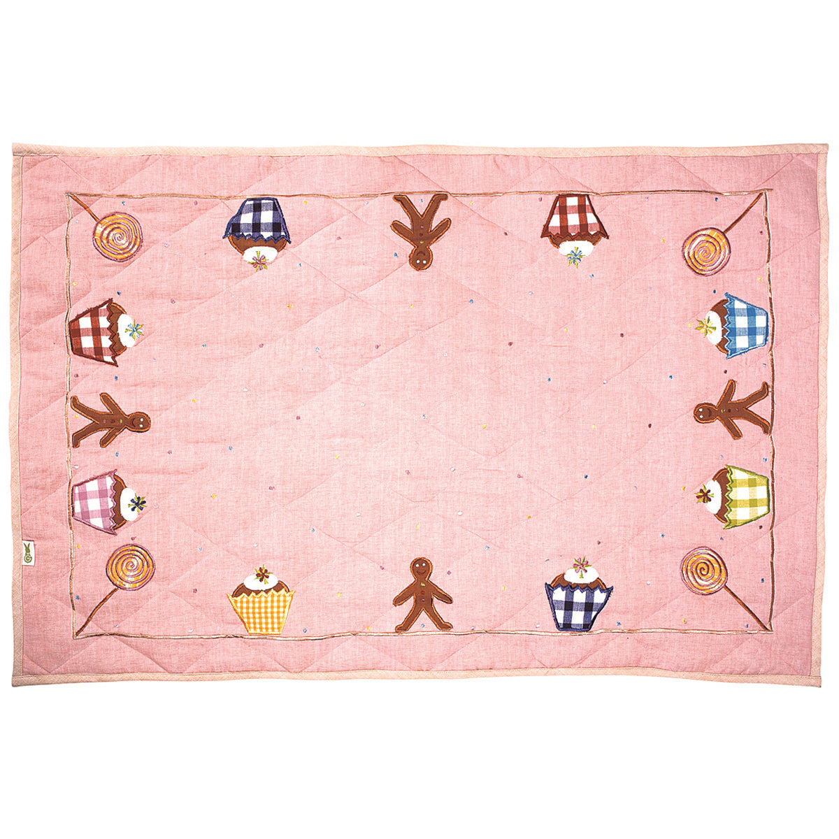 Gingerbread Floor Quilt - Rainbow Playhouses