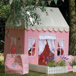 Gingerbread Cottage Playhouse - Rainbow Playhouses