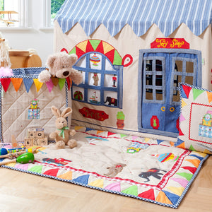 Toy Shop Floor Quilt - Rainbow Playhouses