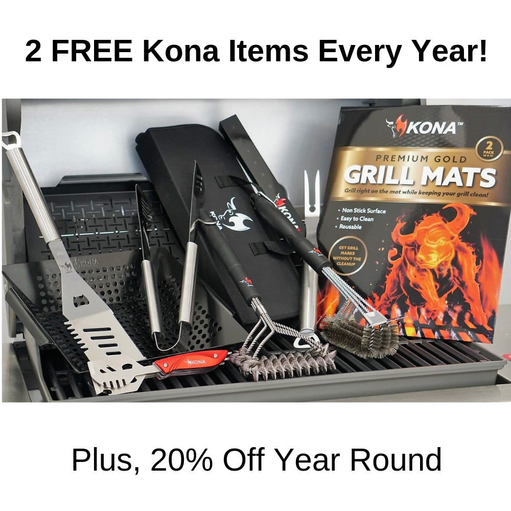 Grillmaster Rewards - FREE Safe/Clean Grill Brush & 7 Day Trial