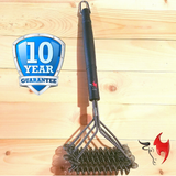 Kona Safe/Clean Grill Brush - Bristle Free Barbecue Brush - 100% Rust Resistant