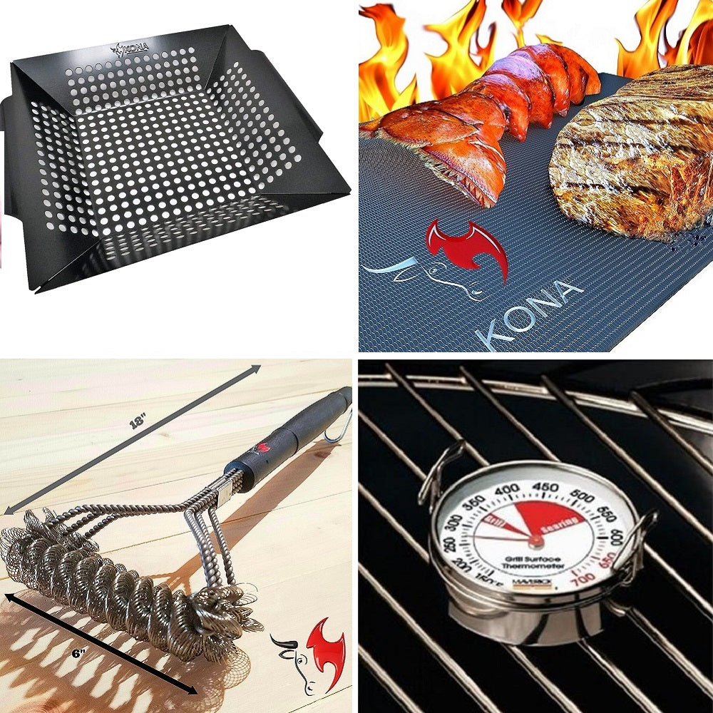 Grilling Accessories Bundle Pack - Bundle and Save 20% (USA ORDERS 3 DAY DELIVERY)
