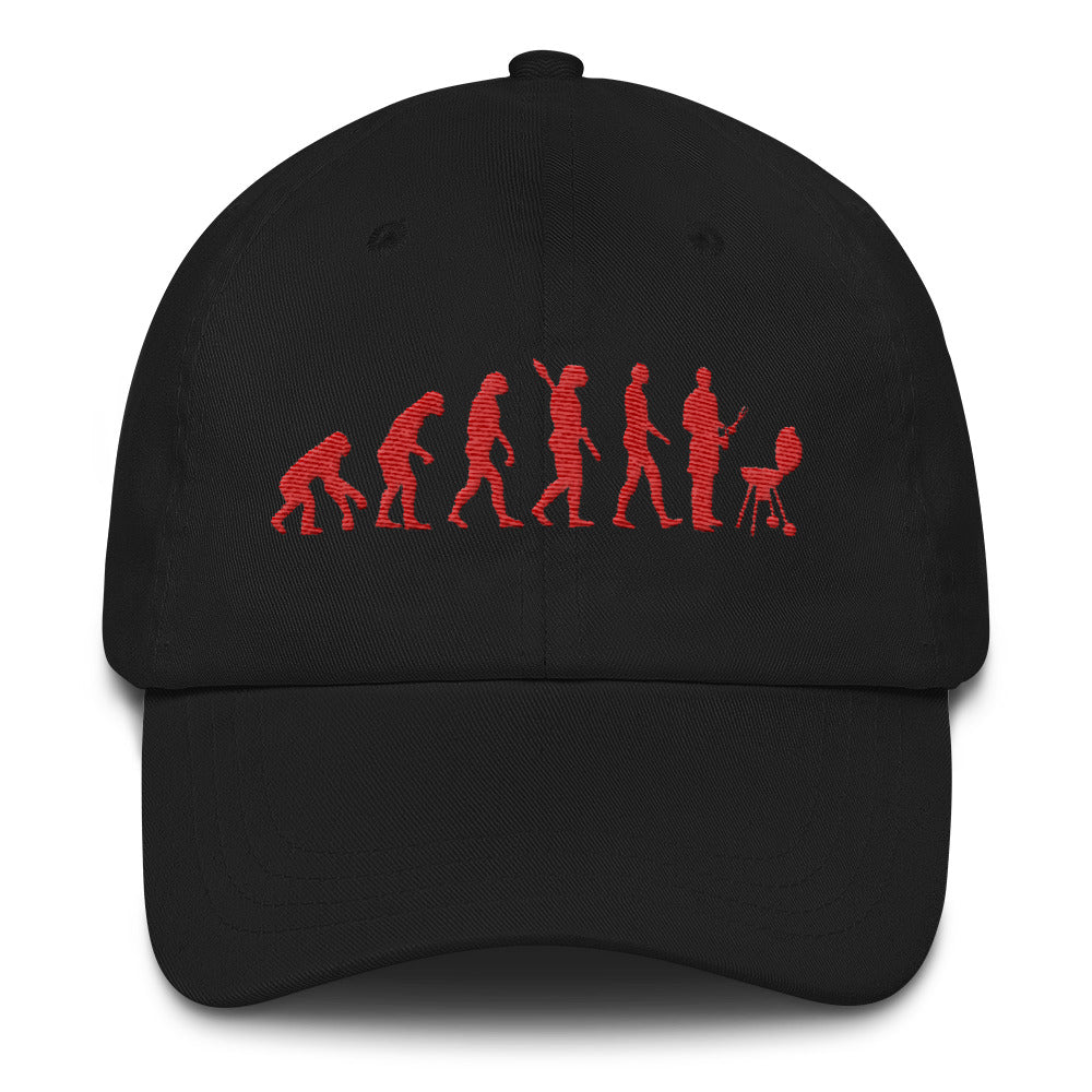 Embroidered Griller's Evolution Dad Hat
