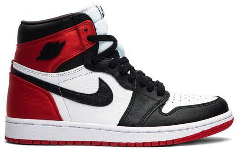Air Jordan 1 Retro High (Women) 'Satin Black Toe'