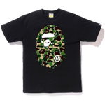 Bape ABC Big Ape Head Tee 'Black'