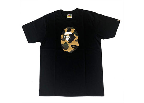 Bape Ape Head Yellow Camo Tee 2020