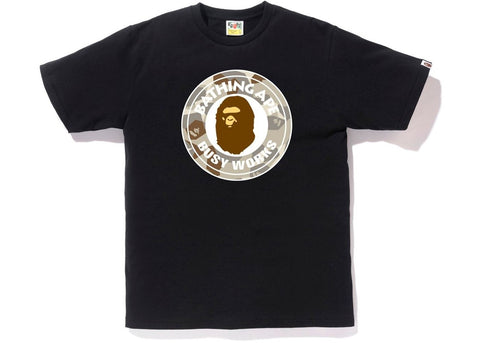 Bape Busy Works Beige Splinter Camo Tee