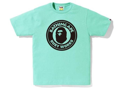 Bape Busy Works Bicolor Black Tee