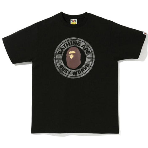 Bape Busy Works Black Dot Ref Tee