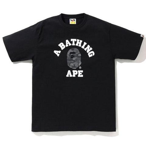 Bape College ABC Black Dot Ref Tee