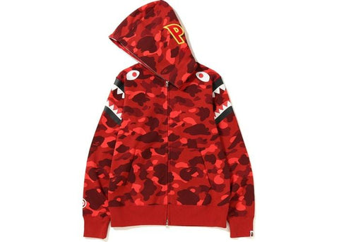 Bape Double Shoulder Shark Hoodie