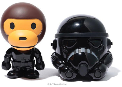 Bape Milo x Starwars Storm Trooper Black