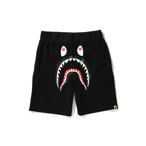 Bape Shark Sweat Shorts 'Black'