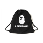 Bape Summer Drawstring Bag 'Black'