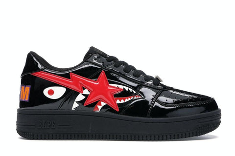 Bapesta Low Shark 'Black'
