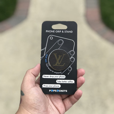Custom Louis Vuitton Pop Socket