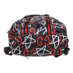Gucci 'GucciGhost' Canvas Leather Backpack Bag 'Multicolor'