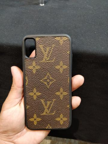 Custom Louis Vuitton Monogram iPhone Case