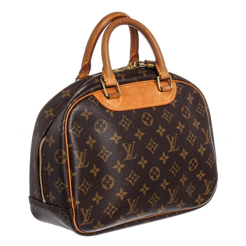 Louis Vuitton Canvas Leather Trouville Bag 'Monogram'