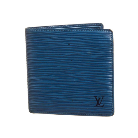 Louis Vuitton Epi Leather Marco Bifold Wallet 'Blue'
