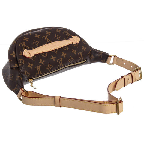 Louis Vuitton Monogram Canvas Leather Bumbag Waist Bag