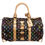 Louis Vuitton Monogram Keepall 45 cm Duffle Bag 'Black Multicolor'